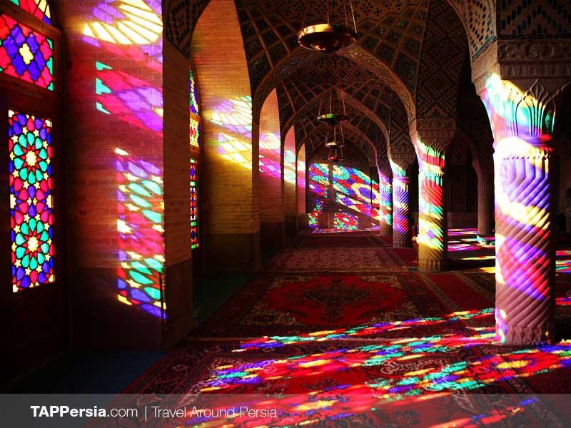 Nasirolmolk Mosque - Pink Mosque - Shiraz