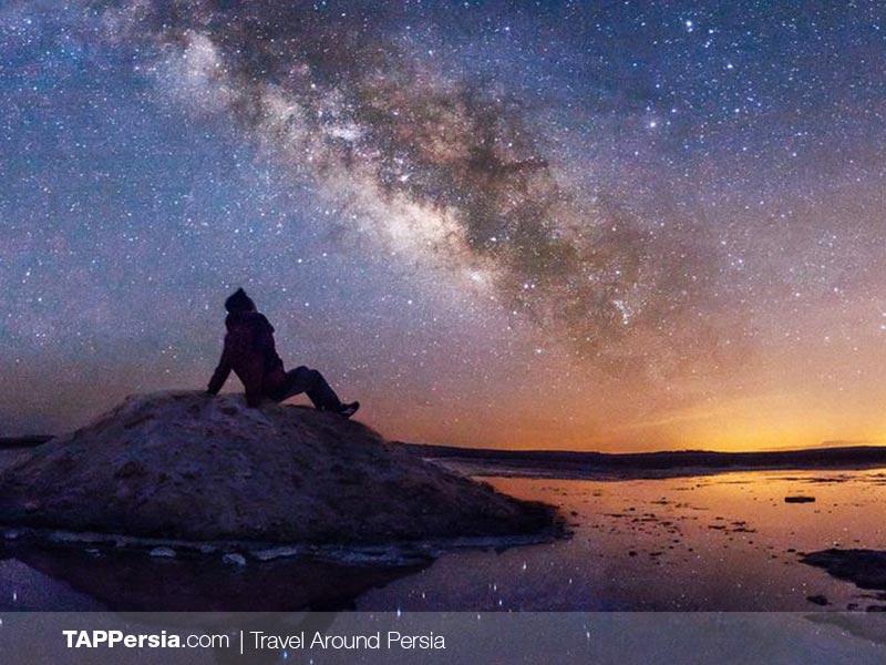The starry nights at Maranjab