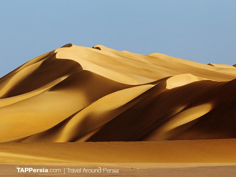 Sand dunes in Maranjab