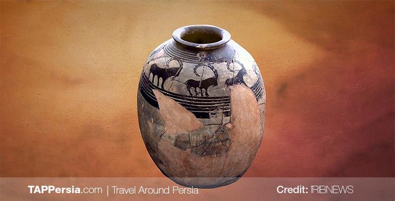 Handicrafts found in Sialk