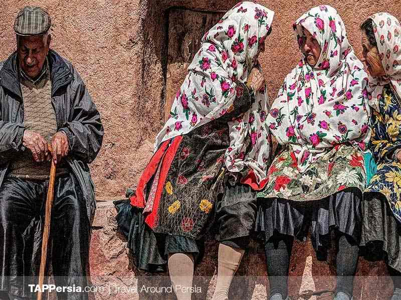The Local people in AByaneh