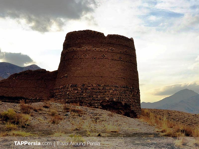 Last remains of a castle in AByaneh