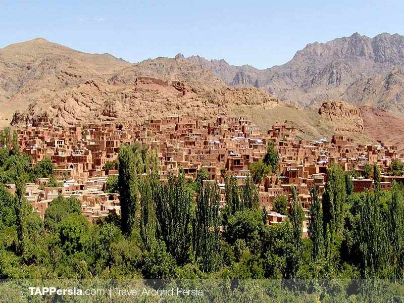 Abyaneh a stepped village