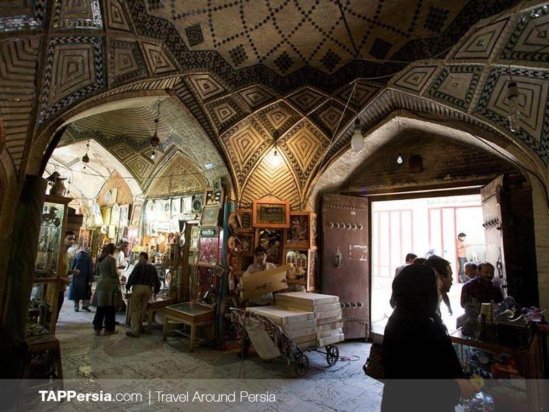 Kashan Bazaar - Bazare Kashan