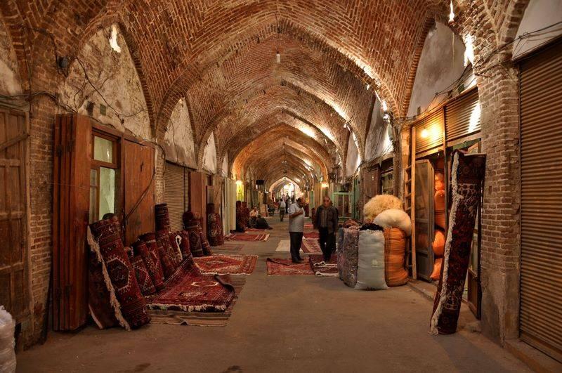 Bazar Tabriz Tappersia Tap Persia