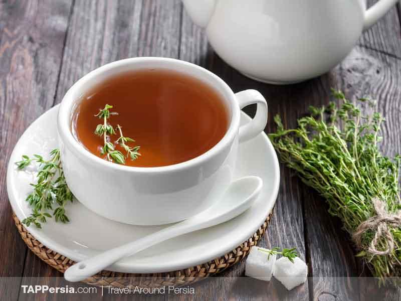 Avishan Tea - Thyme Tea - Isfahan