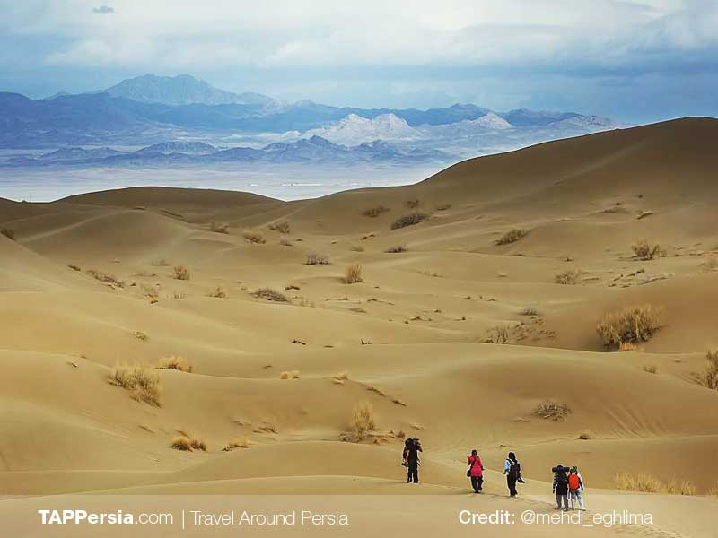 Varzaneh Desert-Isfahan