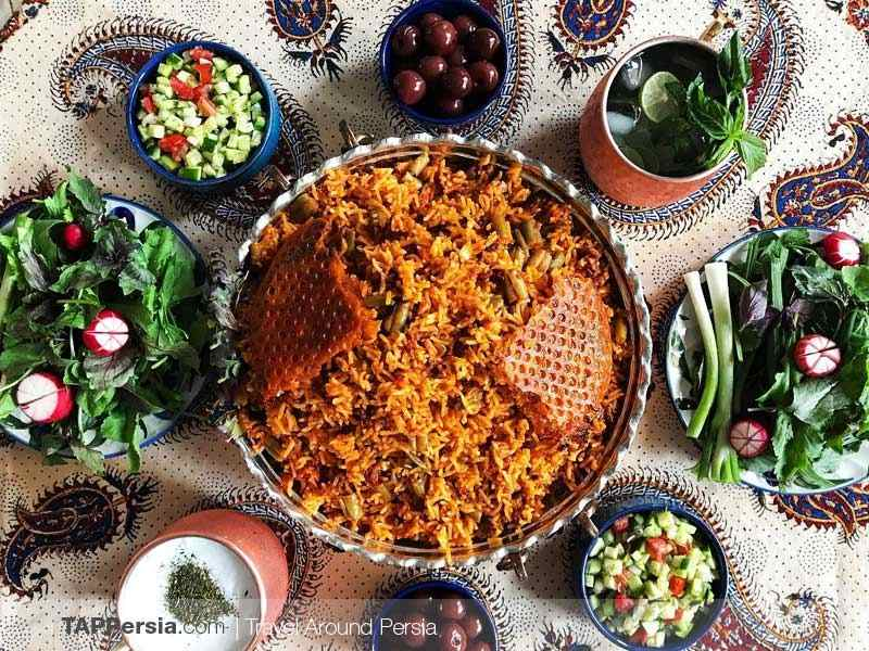 Being Vegetarian in Iran - TAP Persia
