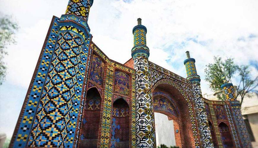 Darb-e Kushk -Gate of Qazvin - TAPPersia