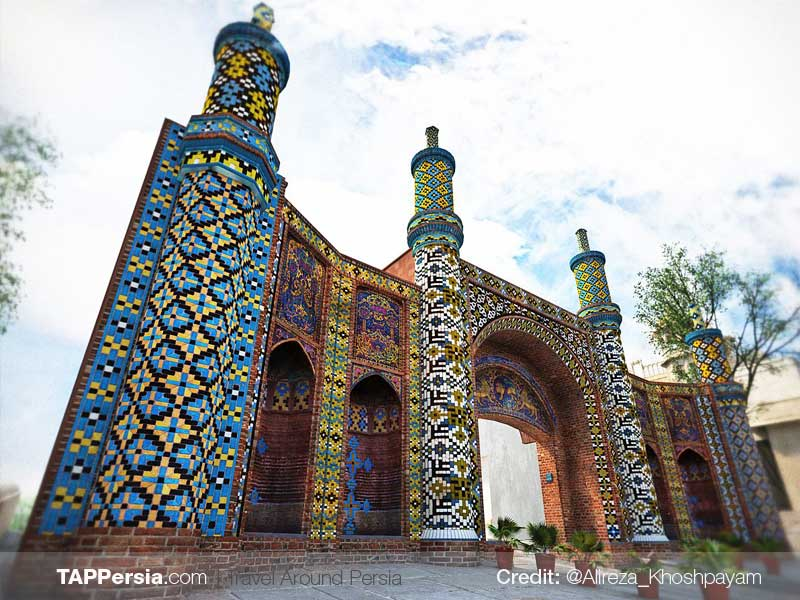Darb-e Kushk -Gate of Qazvin - TAPPersia