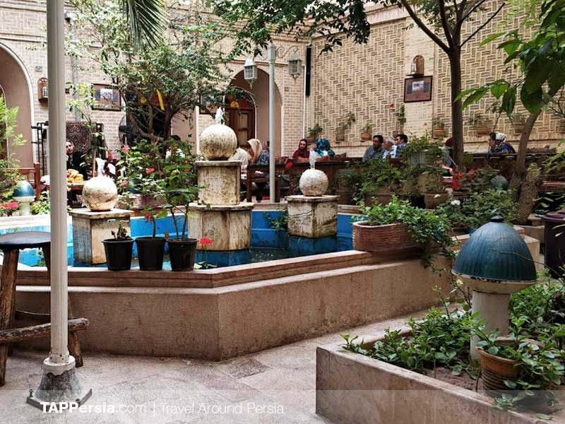 Keykhosro House Restaurant - Kerman - TAP Persia