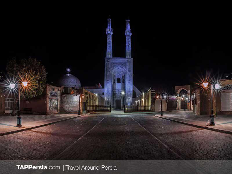 Masjed Jame Street - Yazd - TAP Persia