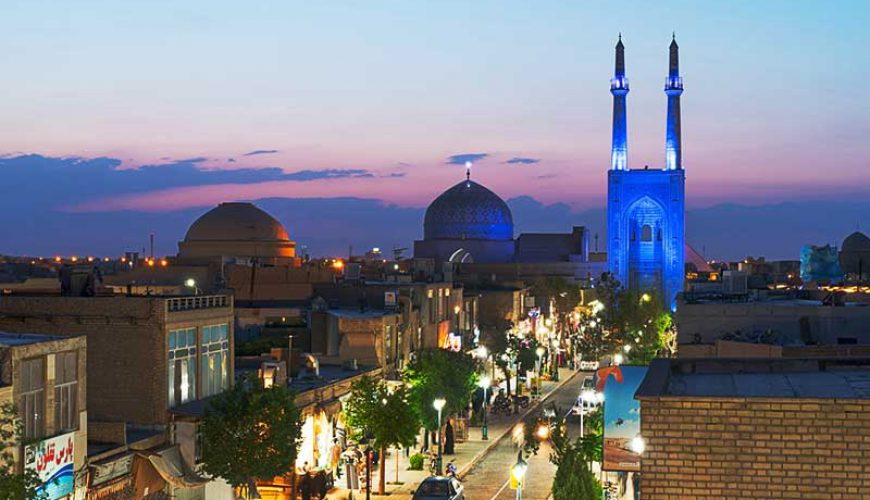 Masjed Jameh Street-Yazd- Iran-TAP Persia