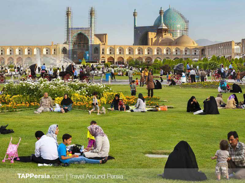 Pic Nic Iran TAP Persia