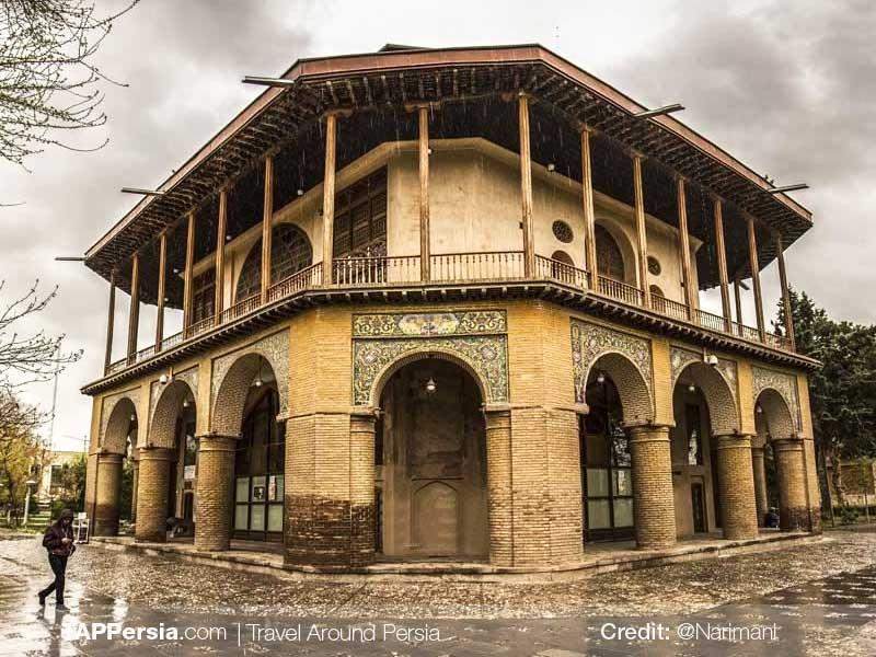 Qazvin Chehel Sotun - TAP Persia