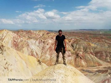 Tabriz Colorful Mountains - Ala Daglar - TAP Persia