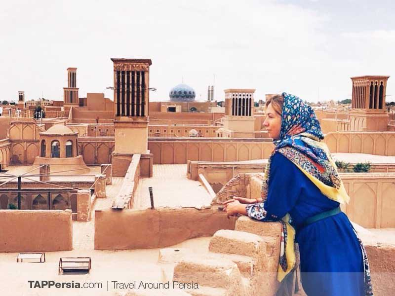 The City of Windcatchers -Yazd - TAP Persia