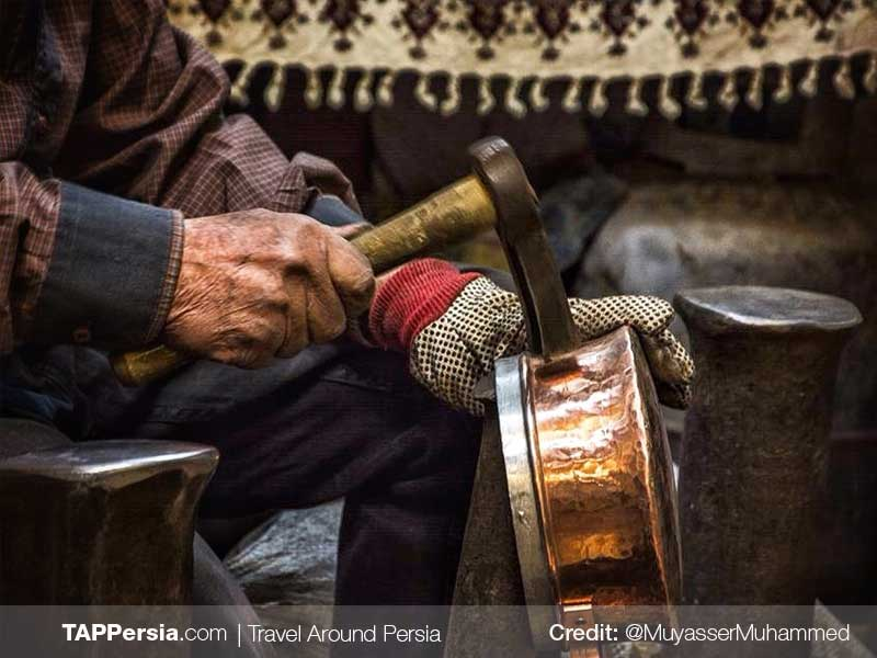 Copperwares-Tehran Souvenirs and Handicrafts-TAP Persia