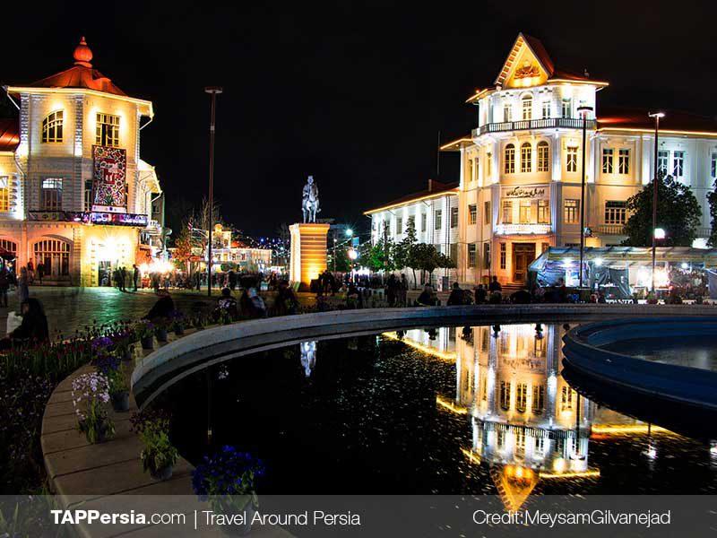 Shahrdari-Square-Rasht Top Attractions-TAP Persia