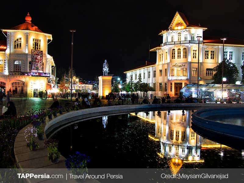 Shahrdari-Square-Rasht Top Attractions-TAP Persia