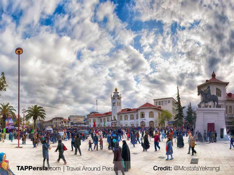 Shahrdari-Square-Rasht-Top-Attractions-TAP Persia