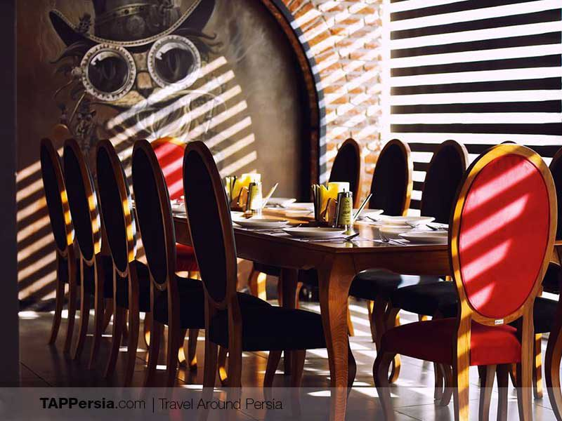 barcode restaurant-Tabriz Places To Eat-TAP Persia