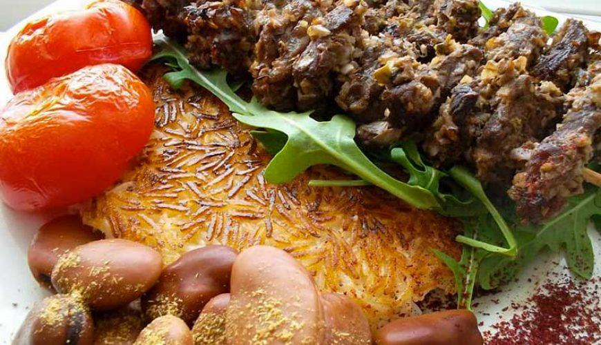 Kabab Torsh - Rasht Local Food - Northern Dishes of Iran