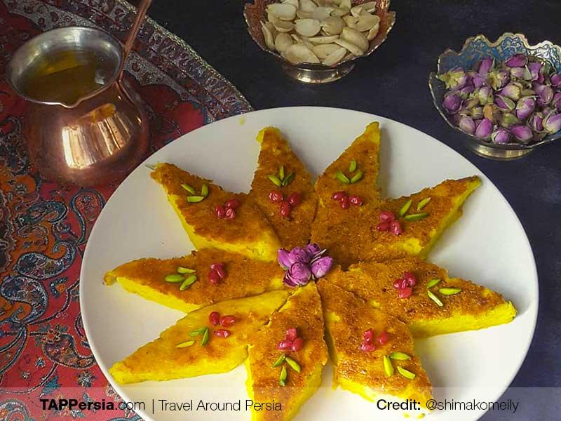 Kuku Shirin - Qazvin Local Food - TAP Persia