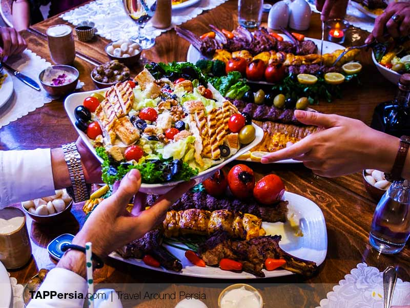 Orkideh Complex Restaurant - Tehran Places to Eat - TAP Persia
