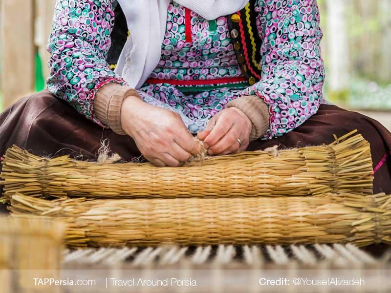 Hasir Bafi-Rasht Souvenir-TAP Persia