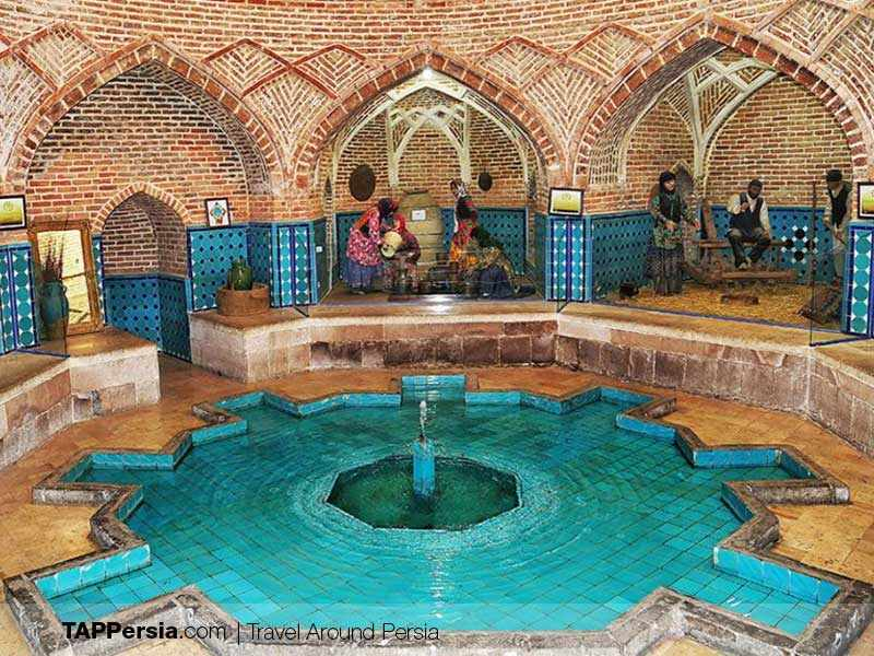 Qajar Bathhouse and anthropology Museum-Kerman Top Attractions-TAP Persia
