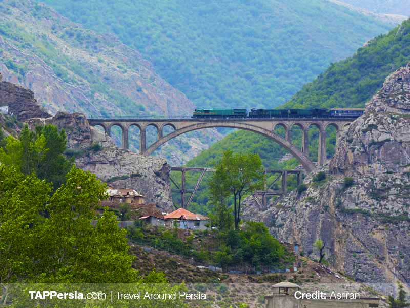 Trans-Iranian Railway - Tehran UNESCO Sites - TAP Persia