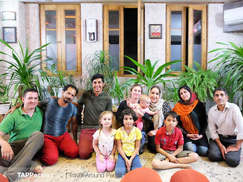 Homestay - Couchsurfing -Iran - TAP Persia