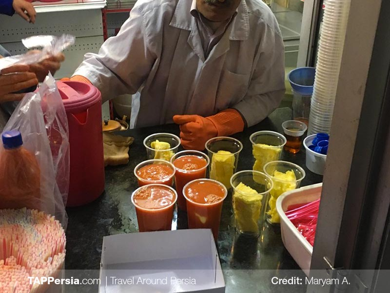 Juice Shops - Travel to Iran - TAP Persia
