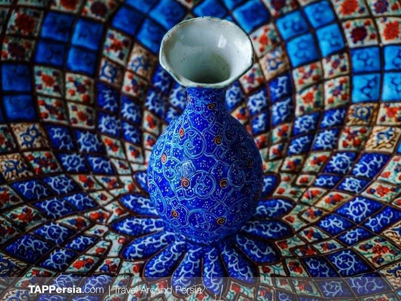 Minakari - Enameling - Iran