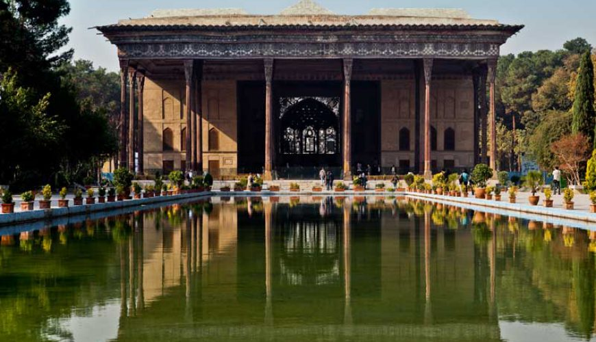 Chehel Sotun The Persian Garden- Iran Unesco Sites - TAP Persia