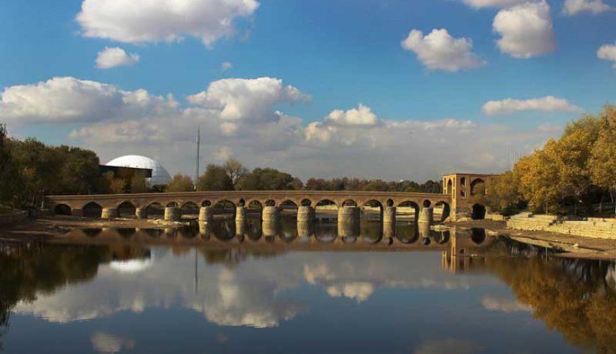 Sharestan Bridge-Isfahan top attractions-TAP Persia