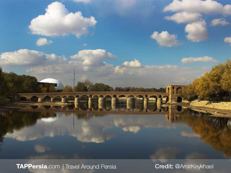 Sharestan Bridge-Isfahan top attractions-TAP Persia