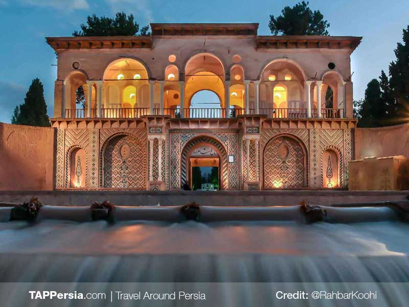Shazdeh Garden The Persian Garden - Iran UNESCO Sites - TAP Persia