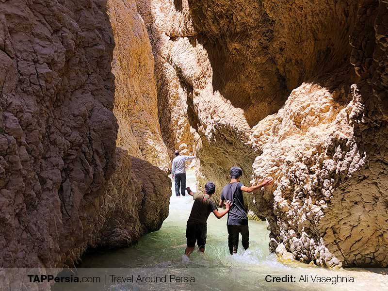 Chama Ice Cave - Isfahan Nature - TAP Persia