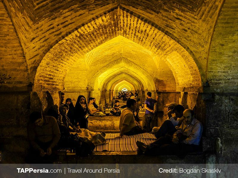 Khaju Bridge - Isfahan Top Attractions - TAP Persia