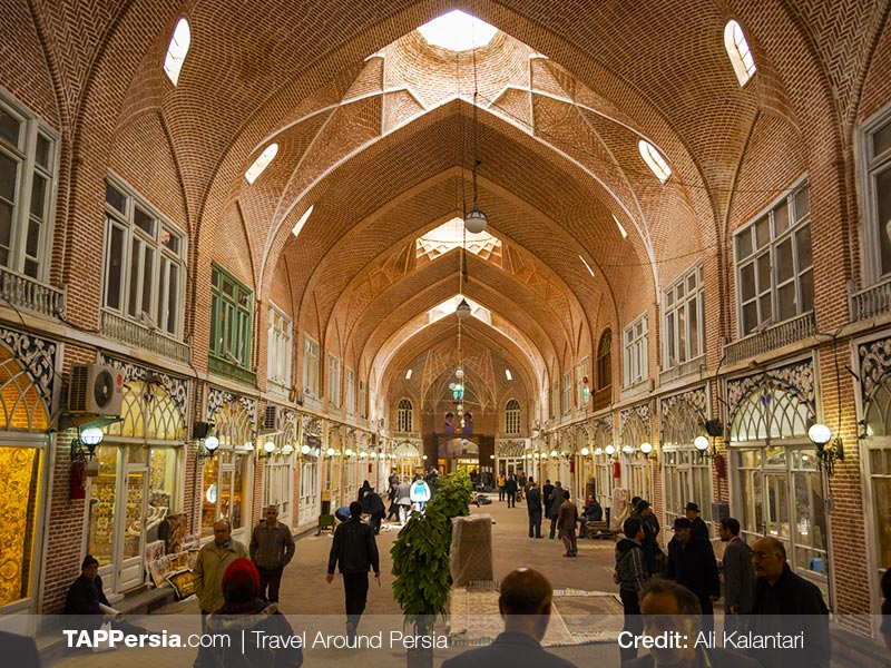 Tabriz Bazaar - UNESCO Sites - Explore Tabriz - TAP Persia
