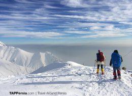 Tochal Mountain Climbing - Tehran Tours - TAP Persia