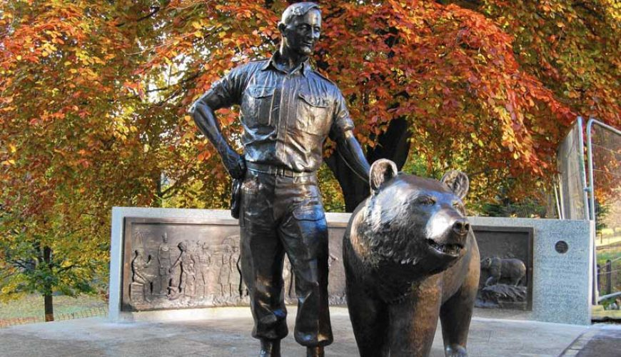 Wojtek the Persian Bear that Joined the Polish Army - Blog - TAP Persia