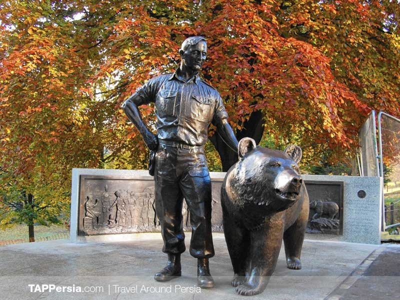 Wojtek the Persian Bear that Joined the Polish Army - Blog - TAP Persia