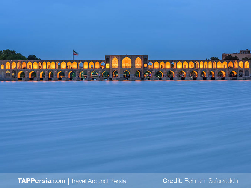 Zayandeh Rud River in Isfahan