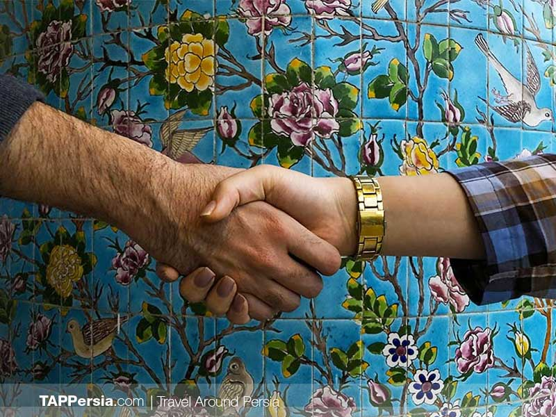 No Shaking Hands with Women - Iranian social behaviors