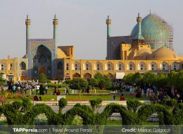 Isfahan Daily Tour, Naghshe Jahan Square - Isfahan Tours - TAP Persia