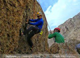 Bande Yakhchal Rock Climbing - Tehran Tour - TAP Persia