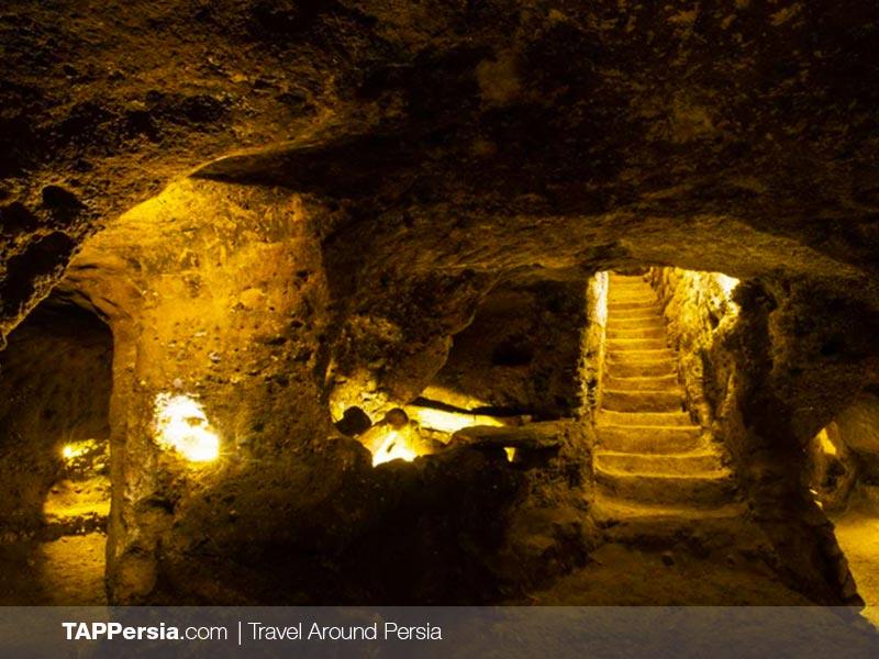 The Underground City of Kurd-e Olya - Isfahan Tours - TAP Persia
